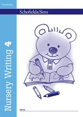 Nursery Writing Book 4 by Kathryn Linaker