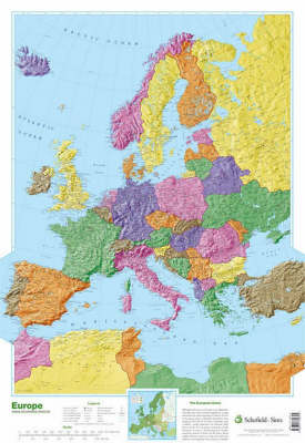 Map of Europe by