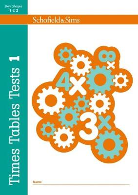 Times Tables Tests Book 1 by Hilary Koll, Steve Mills, Jepson Ledgard
