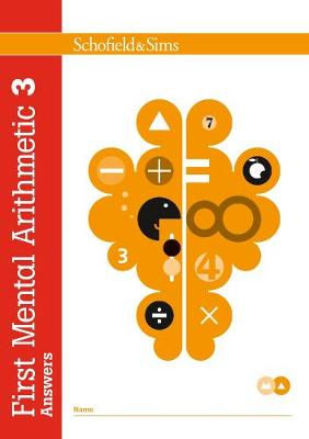 First Mental Arithmetic Answer Book 3 by Ann Montague-Smith