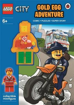 LEGO CITY: Gold Egg Adventure Activity Book with Minifigure by