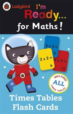 Ladybird I'm Ready for Maths: Times Tables flash cards by