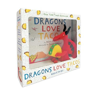 Dragons Love Tacos Book and Toy Set by Adam Rubin, Daniel Salmieri