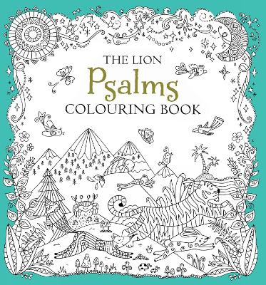 The Lion Psalms Colouring Book by Antonia Jackson