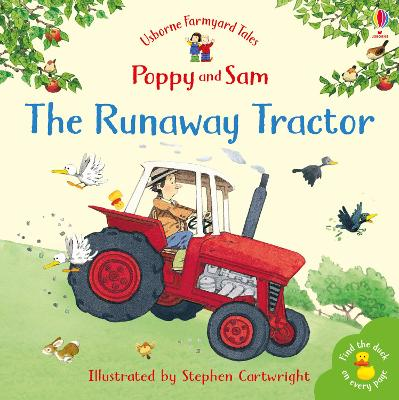 The Runaway Tractor by Heather Amery