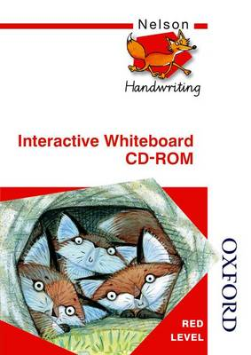 Nelson Handwriting Interactive Whiteboard CD ROM Red Level by Anita Warwick, Christalla Watson