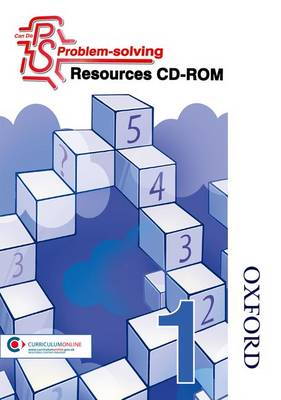 Can Do Problem Solving Year 1 Resources CD-ROM by Cathy Atherden