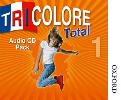 Tricolore Total 1 Audio CD pack (5x Class CDs 1x Student CD) by Sylvia Honnor, Heather Mascie-Taylor, Michael Spencer