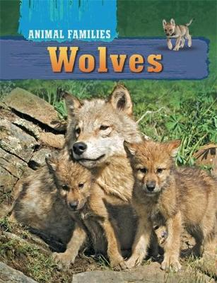 Animal Families: Wolves by Hachette Children's Books, Tim Harris
