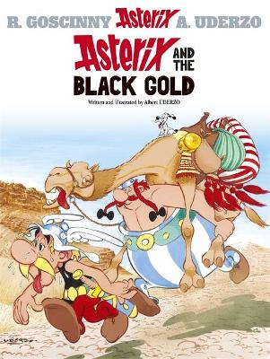 Asterix: Asterix and the Black Gold Album 26 by Albert Uderzo