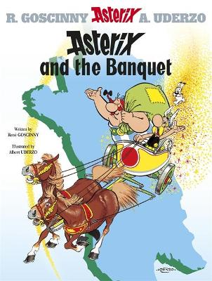 Asterix: Asterix and the Banquet Album 5 by Rene Goscinny