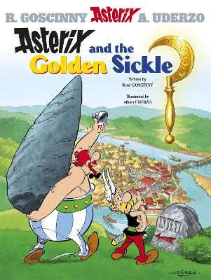 Asterix: Asterix and the Golden Sickle Album 2 by Rene Goscinny