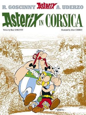 Asterix: Asterix in Corsica Album 20 by Rene Goscinny