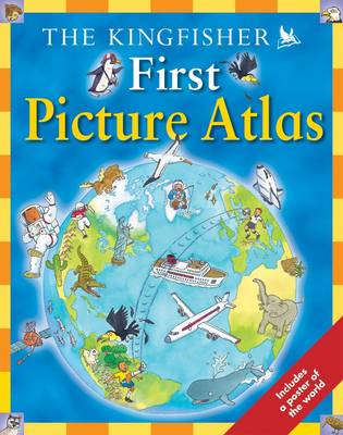 First Picture Atlas with Poster by Deborah Chancellor