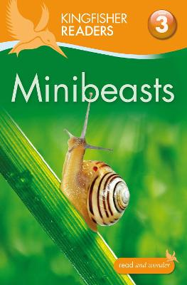 Kingfisher Readers: Minibeasts (Level 3: Reading Alone with Some Help) by Anita Ganeri
