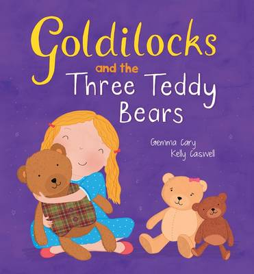 Square Cased Fairy Tale Book - Goldilocks and the Three Bears by North Parade Publishing