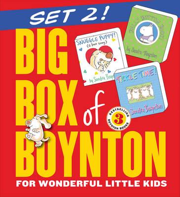 Big Box of Boynton Set 2! Snuggle Puppy! Belly Button Book! Tickle Time! by Sandra Boynton