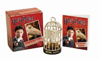 Harry Potter Hedwig Owl Kit and Sticker Book by Running Press