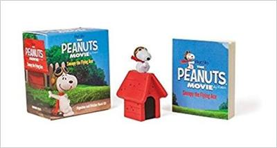 The Peanuts Movie: Snoopy the Flying Ace Figurine and Sticker Book Kit by Charles Schulz