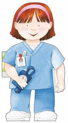 Nurse Little People Shape Books by Giovanni Caviezel, C. Mesturini