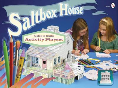 Saltbox House Color 'n Build Activity Playset by Schiffer Publishing Ltd.