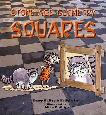 Stone Age Geometry Squares by Felicia Law, Gerry Bailey