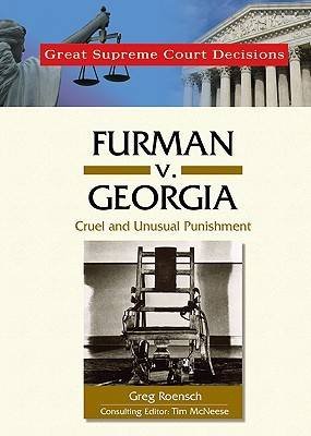 Furman v. Georgia by Greg Roensch