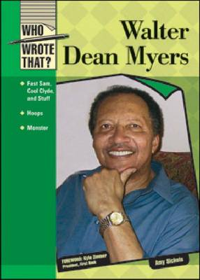 Walter Dean Myers by Amy Sickels