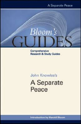 A Separate Peace by Prof. Harold Bloom