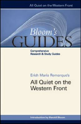 All Quiet on the Western Front by Prof. Harold Bloom