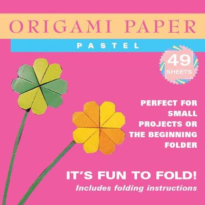 Origami Paper - Pastel Colors - 6 3/4 - 48 Sheets Tuttle Origami Paper: High-Quality Origami Sheets Printed with 6 Different Colors: Instructions for 6 Projects Included by Tuttle Publishing