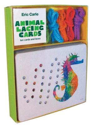 Eric Carle: Animal Lacing Cards 10 Cards & Laces by Eric Carle