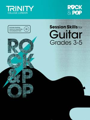 Session Skills for Guitar Grades 3-5 by Trinity College London