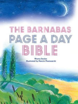 The Barnabas Page-a-Day Bible by Rhona Davies