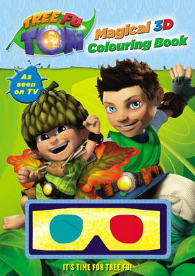 Tree Fu Tom: Magical 3D Colouring Book by