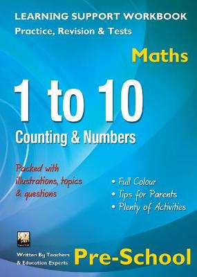1 to 10, Counting & Numbers, Pre-School (Maths) Home Learning, Support for the Curriculum by Tree Flame