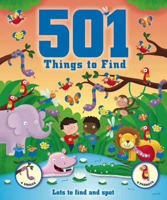 501 Things for Little Boys to Spot by