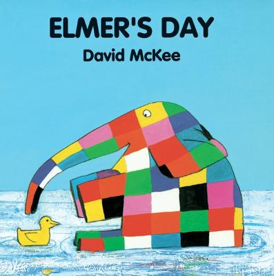 Elmer's Day Tabbed Board Book by David McKee
