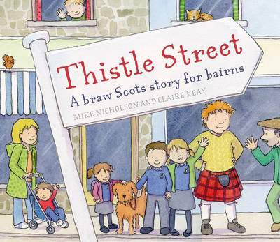 Thistle Street by Mike Nicholson