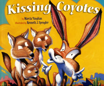 Kissing Coyotes by Marcia Vaughn