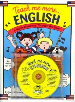 Teach Me More... English/ESL CD A Musical Journey Through the Year by Judy Mahoney