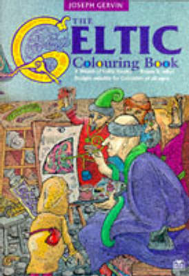 The Celtic Colouring Book by Joseph Gervin