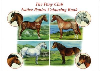 The Pony Club Native Ponies Colouring Book by Maggie Raynor