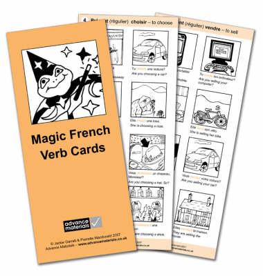 Magic French Verb Cards Flashcards (8) Speak French more Fluently! by Jackie Garratt, Pierrette Macdonald