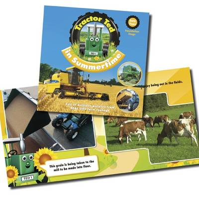 Tractor Ted in Summertime by Alexandra Heard