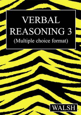 Verbal Reasoning 3 by Mary Walsh, Barbara Walsh