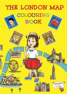The London Map Colouring Book by Francesca Lombardo