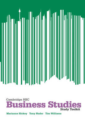 Cambridge HSC Business Studies 2ed Toolkit by Tim Williams, Tony Nader, Marianne Hickey