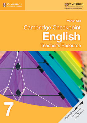 Cambridge Checkpoint English Teacher's Resource 7 by Marian Cox