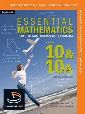 Essential Mathematics for the Australian Curriculum Year 10 Teacher Edition by Jenny Goodman, Kevin McMenamin, Rachael Miller, Miranda Pallett
